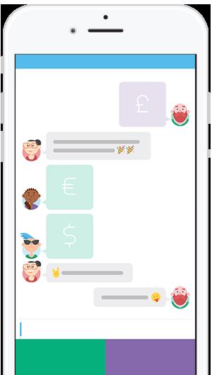 App screen.
